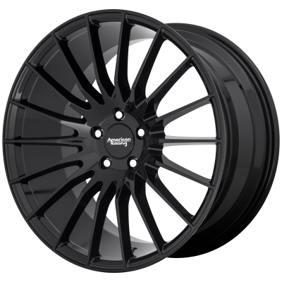 AMERICAN RACING FASTLANE 18x8 5x114.30 GLOSS BLACK (38 mm)  AR93488012338