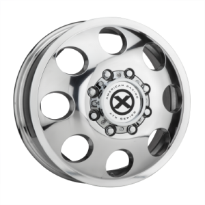 ATX BAJA DUALLY 16x6 8x165.10 POLISHED - FRONT (111 mm)  AX204660801111