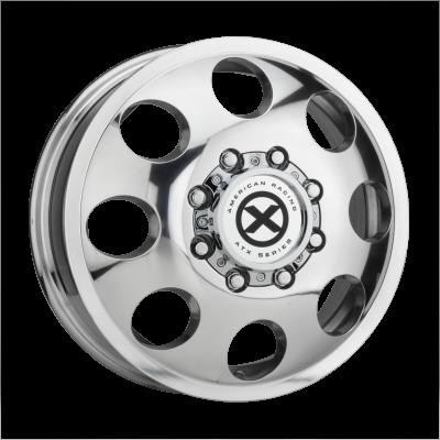 ATX BAJA DUALLY 16x6 8x165.10 POLISHED - FRONT (111 mm)  AX204660801111