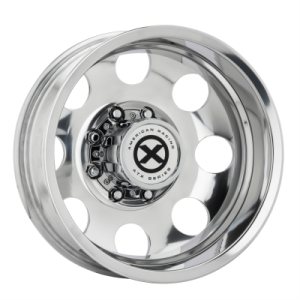 ATX BAJA DUALLY 16x6 8x170.00 POLISHED - REAR (-134 mm)  AX204660871134N