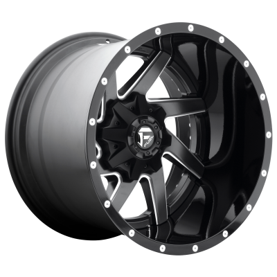 FUEL RENEGADE 22x14 8x170.00 MATTE BLACK MILLED (-70 mm)  D26522401747
