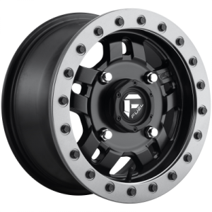 FUEL ANZA BL - OFF ROAD ONLY 15x7 4x156.00 MATTE BLACK (38 mm)  D9171570A554