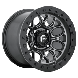 FUEL TECH BL - OFF ROAD ONLY 15x10 4x137.00 MATTE GUN METAL BLACK BEAD RING (0 mm)  D9191500A654