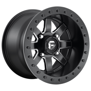FUEL MAVERICK BL - OFF ROAD ONLY 15x10 4x137.00 MATTE BLACK (0 mm)  D9281500A655