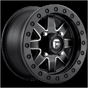 FUEL MAVERICK BL - OFF ROAD ONLY 15x7 4x156.00 MATTE BLACK MILLED (38 mm)  D9381570A554