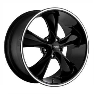 FOOSE LEGEND 20x8.5 5x115.00 GLOSS BLACK MILLED (7 mm)  F104208590+07