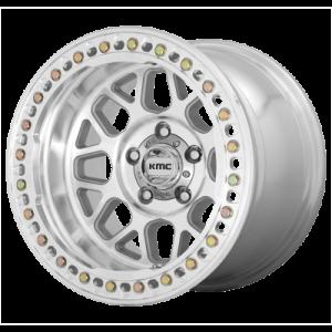 KMC GRENADE CRAWL 17x9 8x165.10 MACHINED (-38 mm)  KM23579080538N