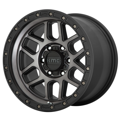 KMC MESA 18x9 8x180.00 SATIN BLACK W/ GRAY TINT (18 mm)  KM54489088418