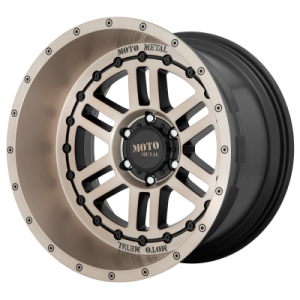 MOTO METAL DEEP SIX 22x12 8x170.00 SATIN BLACK W/ BRONZE TINT (-44 mm)  MO80022287644N