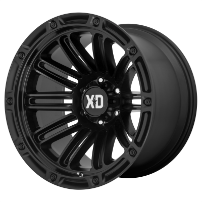 XD DOUBLE DEUCE 20x9 8x180.00 SATIN BLACK (0 mm)  XD84629088700